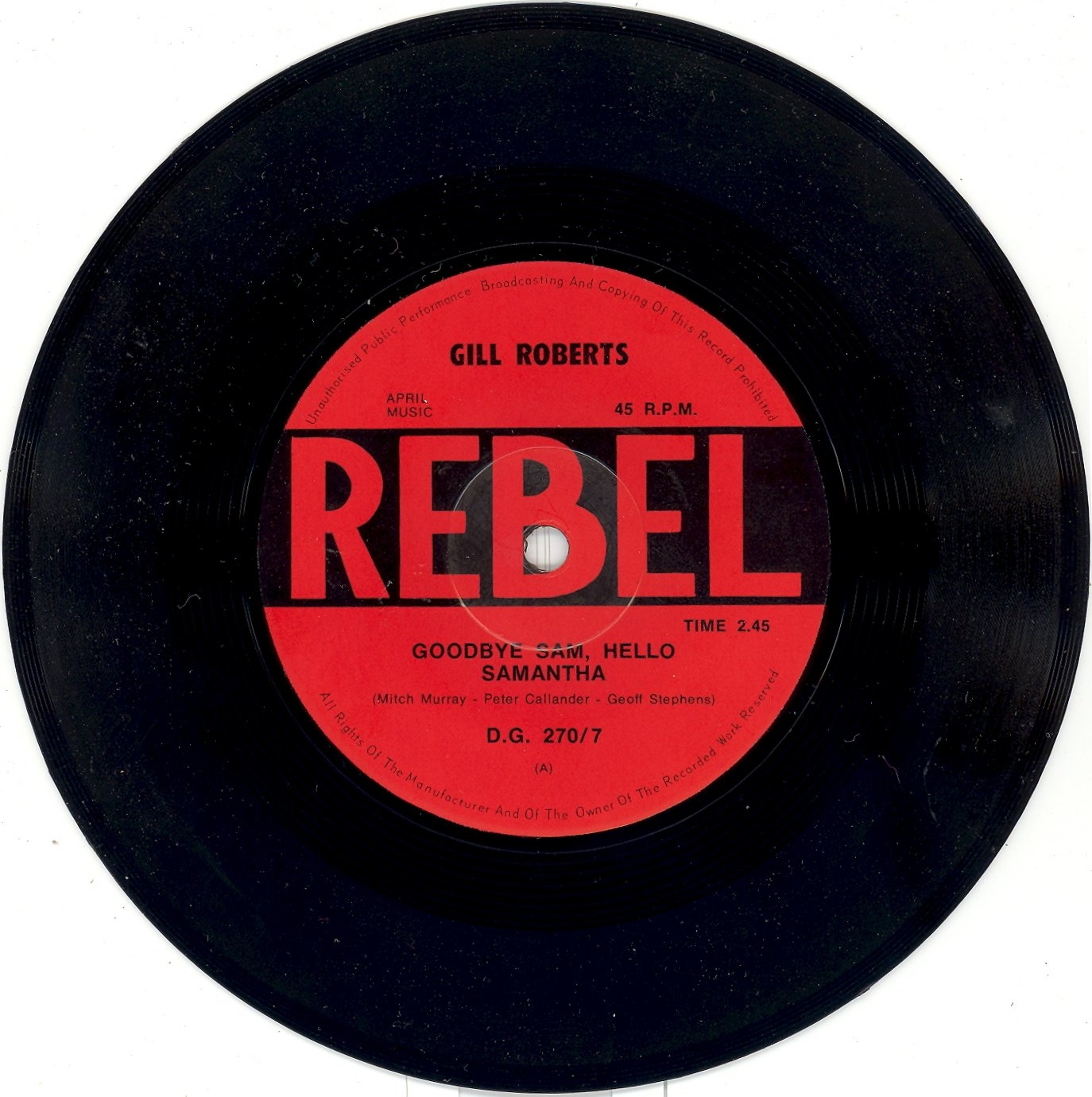 MILESAGO  Record Labels  Rebel Records