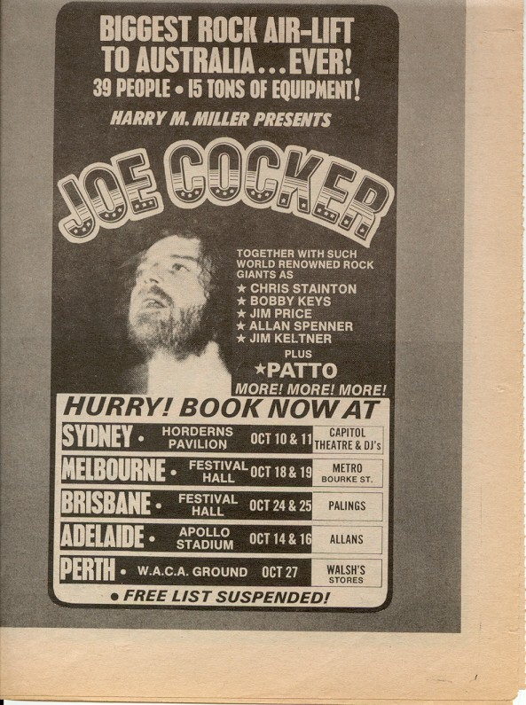Milesago Performance Tours By Overseas Acts Joe